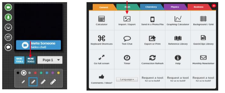 Tools screenshot