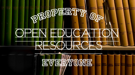 open education resources property of everyone