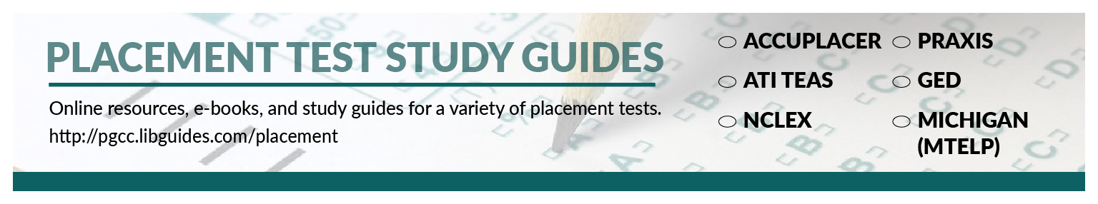 Placement test resources