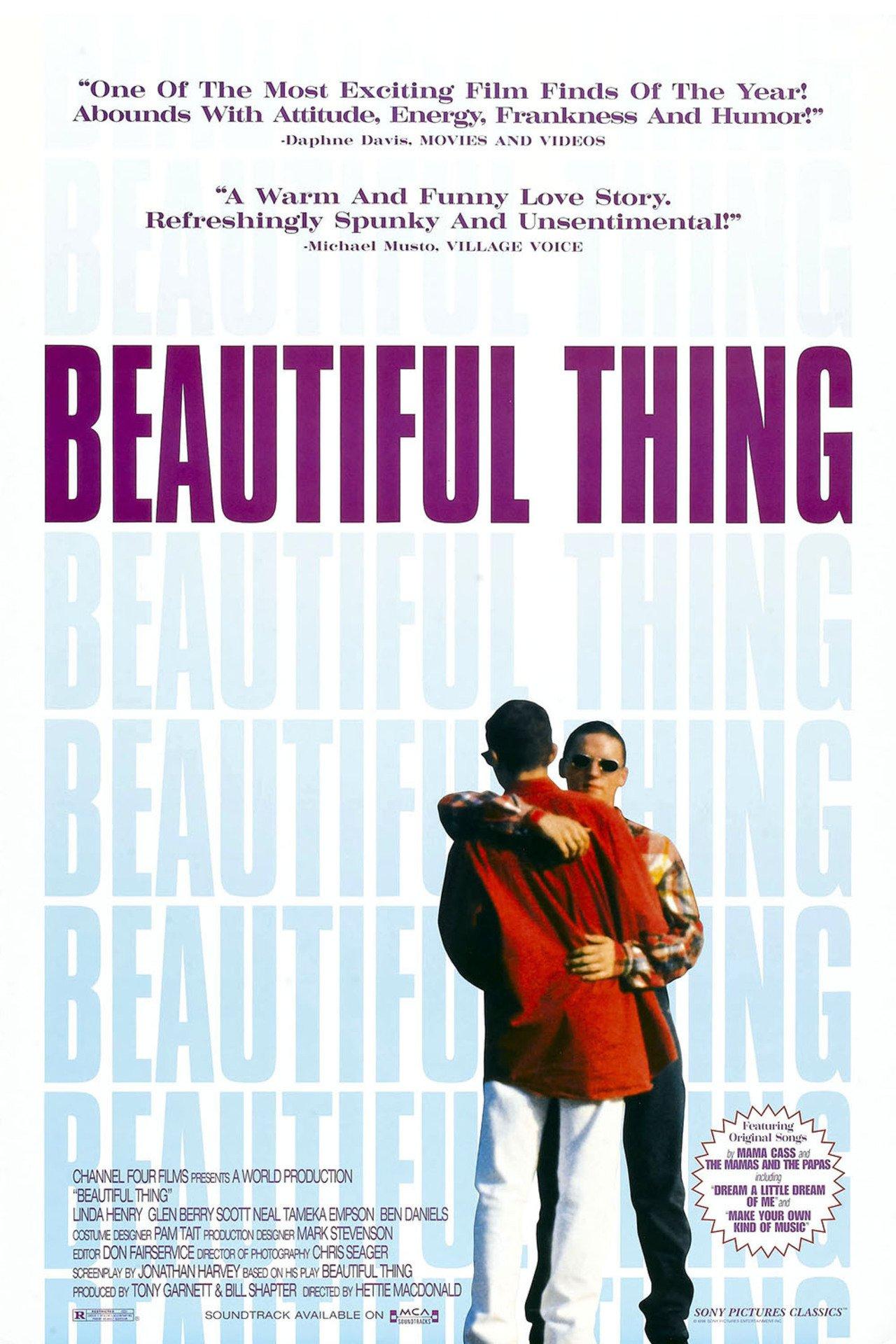 Beautiful Thing poster