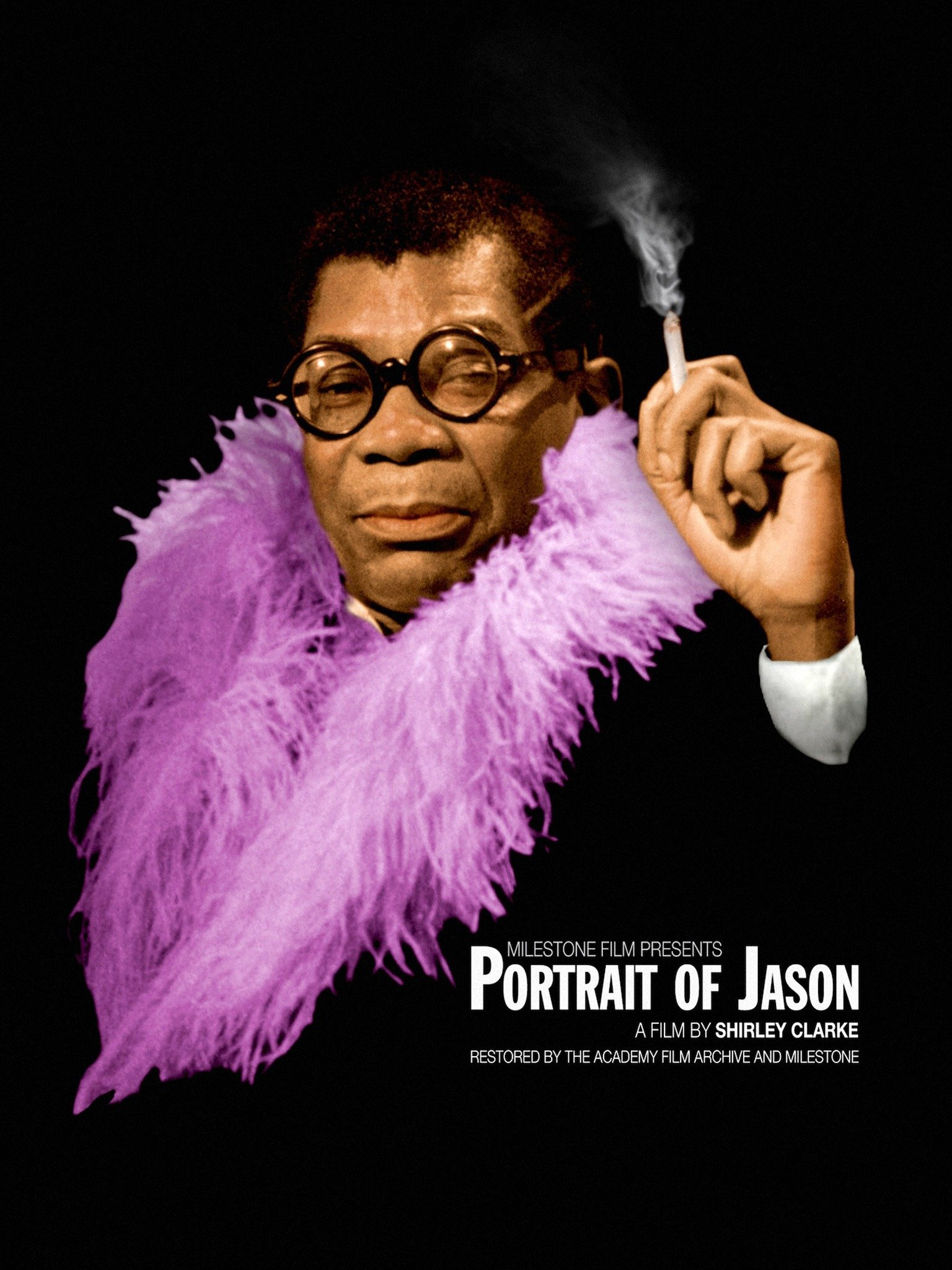 Portrait of Jason poster