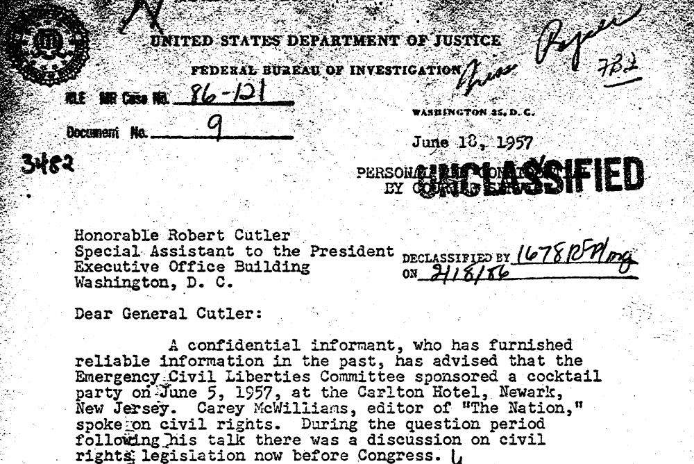 Declassified Documents