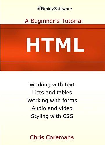 HTML: A Beginner's Tutorial