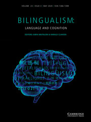 Bilingualism Journal Cover