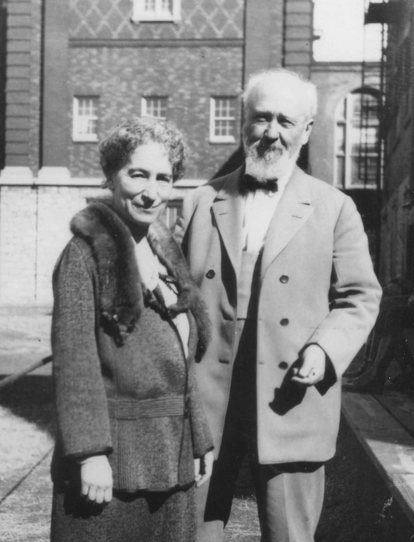 Mary Kimball Morgan and Bernard Maybeck