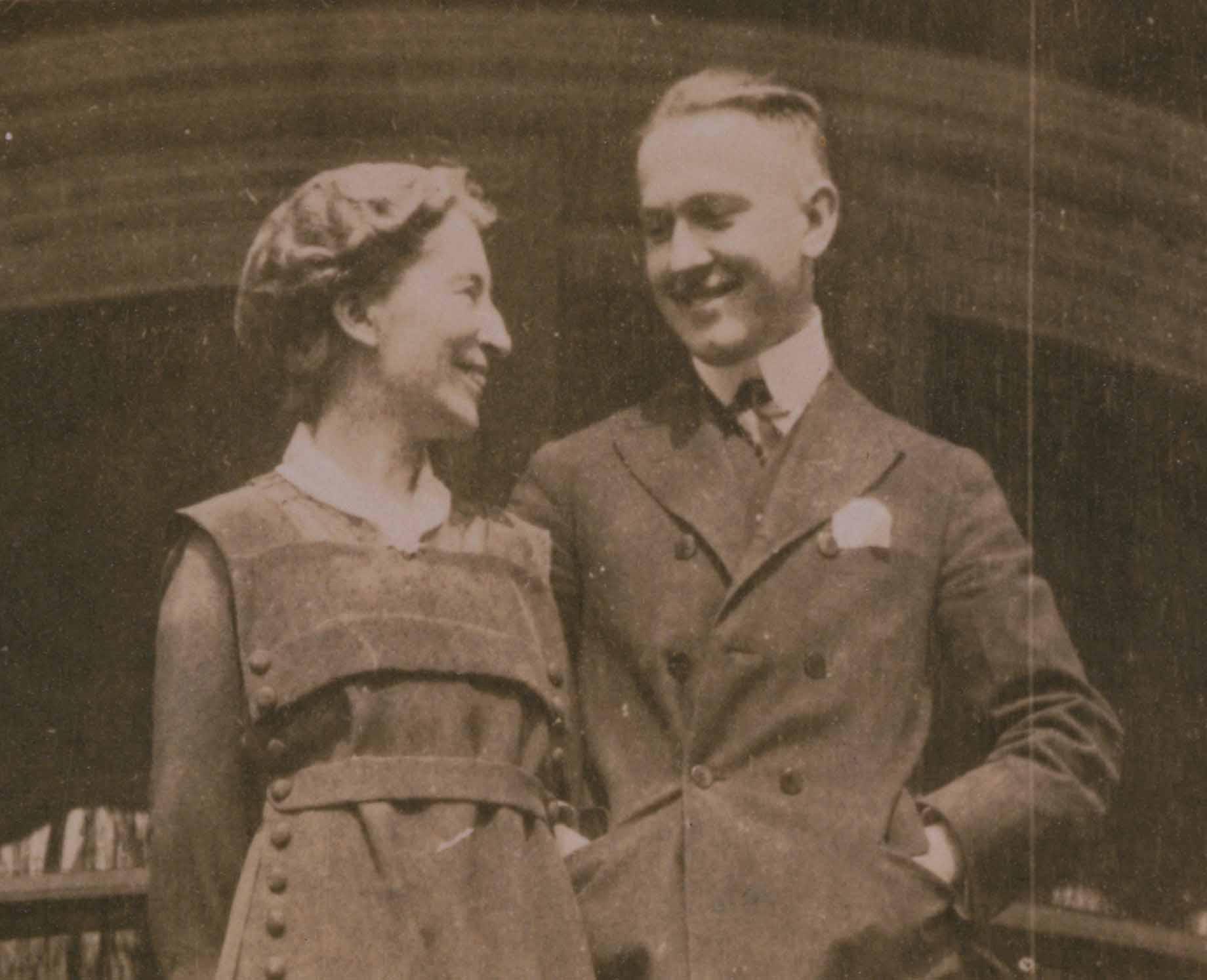 Principia founder, Mary Kimball Morgan with her son William Morgan Jr.