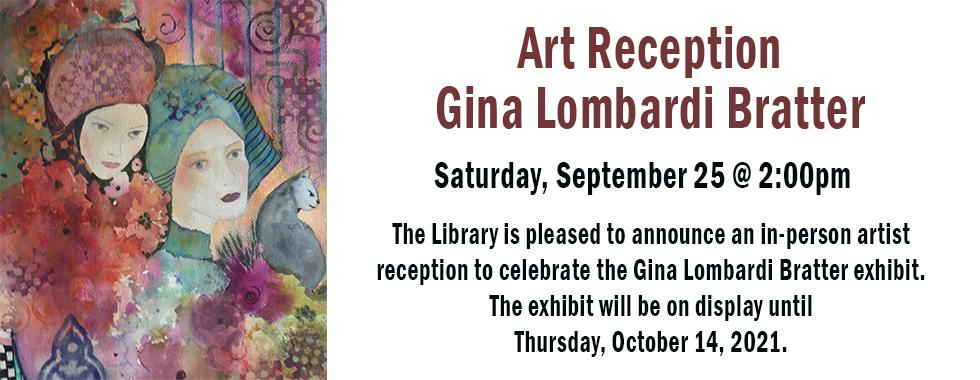 Art Reception September 25 at 2