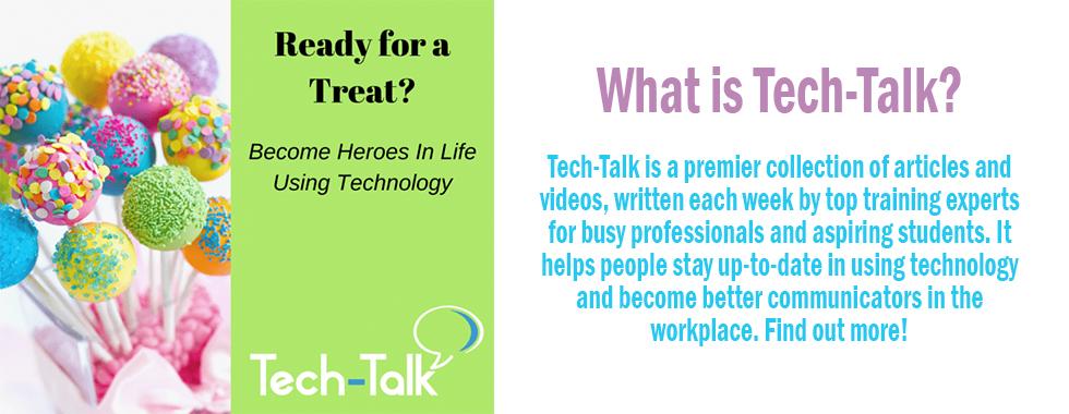 Using Tech-Talk
