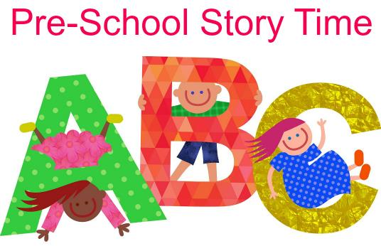 Virtual Preschool Storytime with a craft