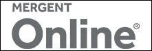 Logo for Mergent Online