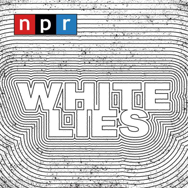Logo for White Lies Podcast