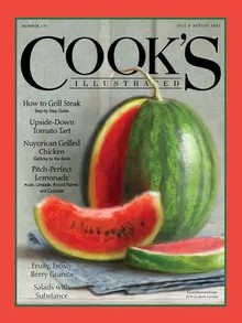 Cook's Illustrated Magazine Cover