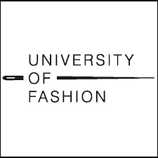 Logo for the University of Fashion