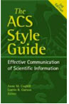 ACS style guide book cover