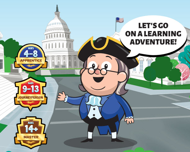 Ben says let's go on a learning adventure