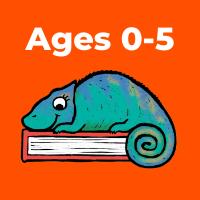 ages 0-5 button