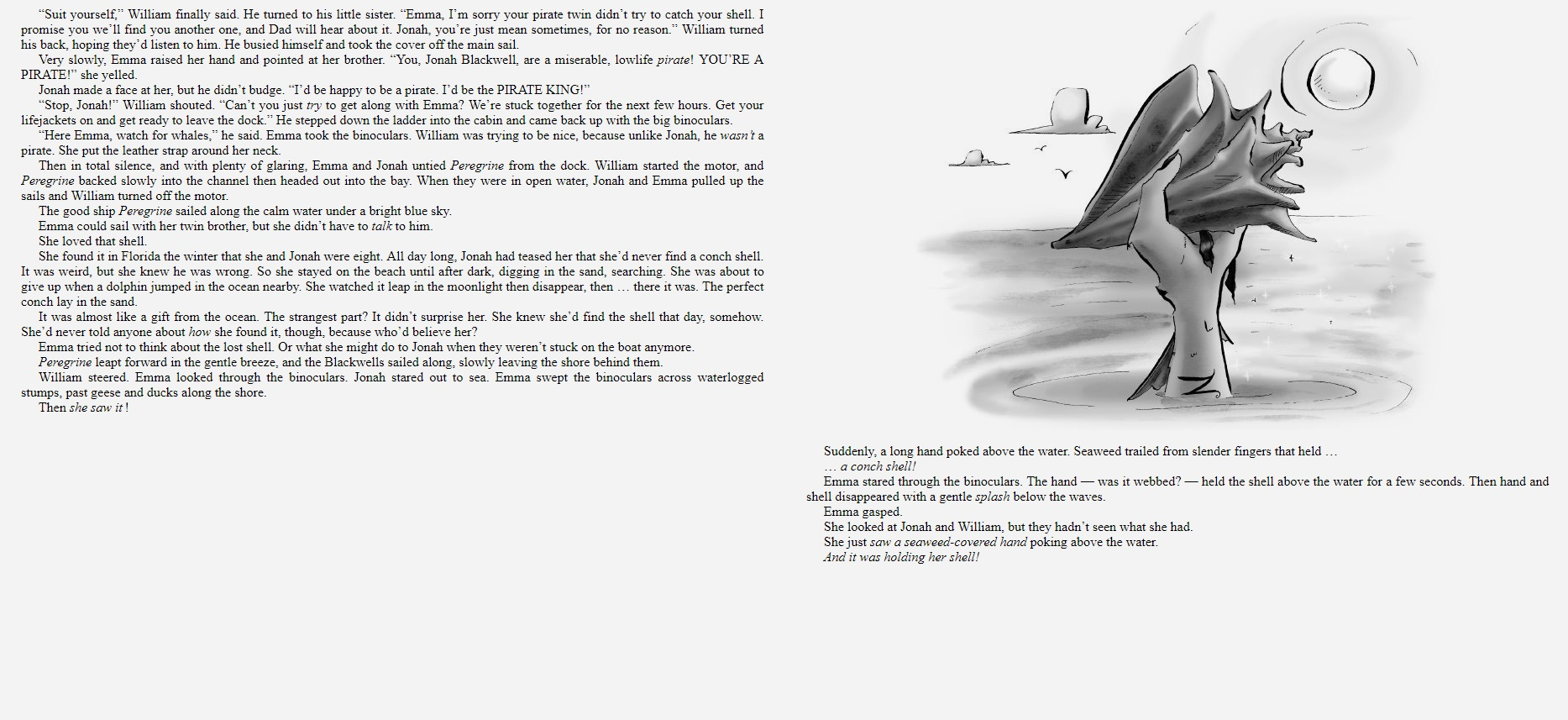 Blackwells and the Briny Deep sample page 3