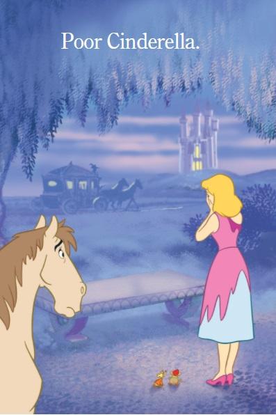 book page says Poor Cinderella