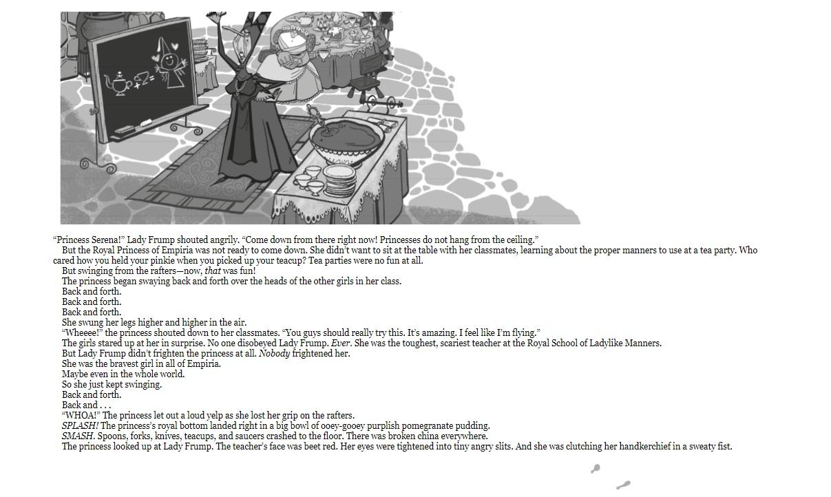 Princess Pulverizer sample page 1
