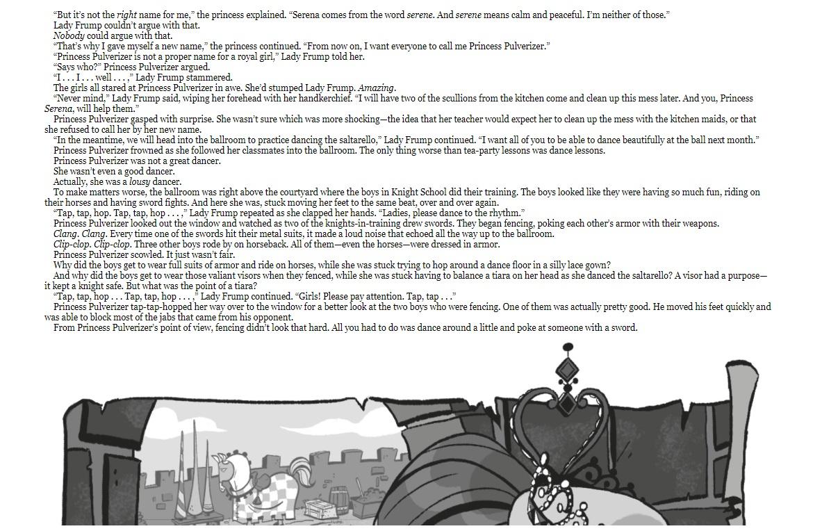 Princess Pulverizer sample page 3