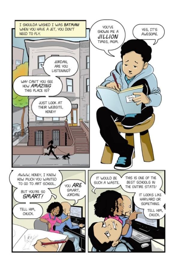 New Kid sample page 3