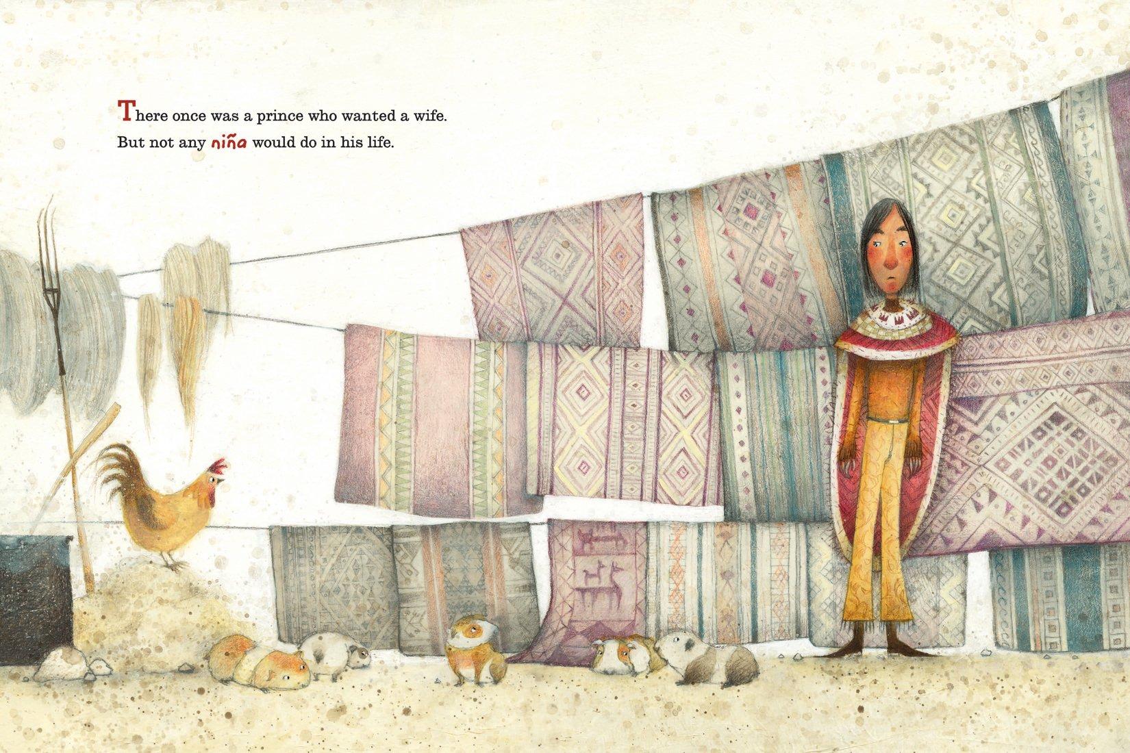 La Princesa and the Pea sample page 1