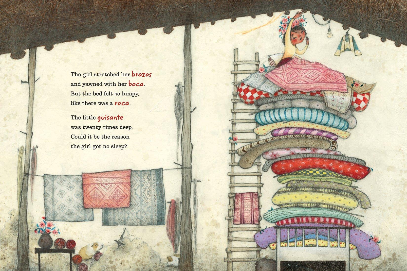 La Princesa and the Pea sample page 3