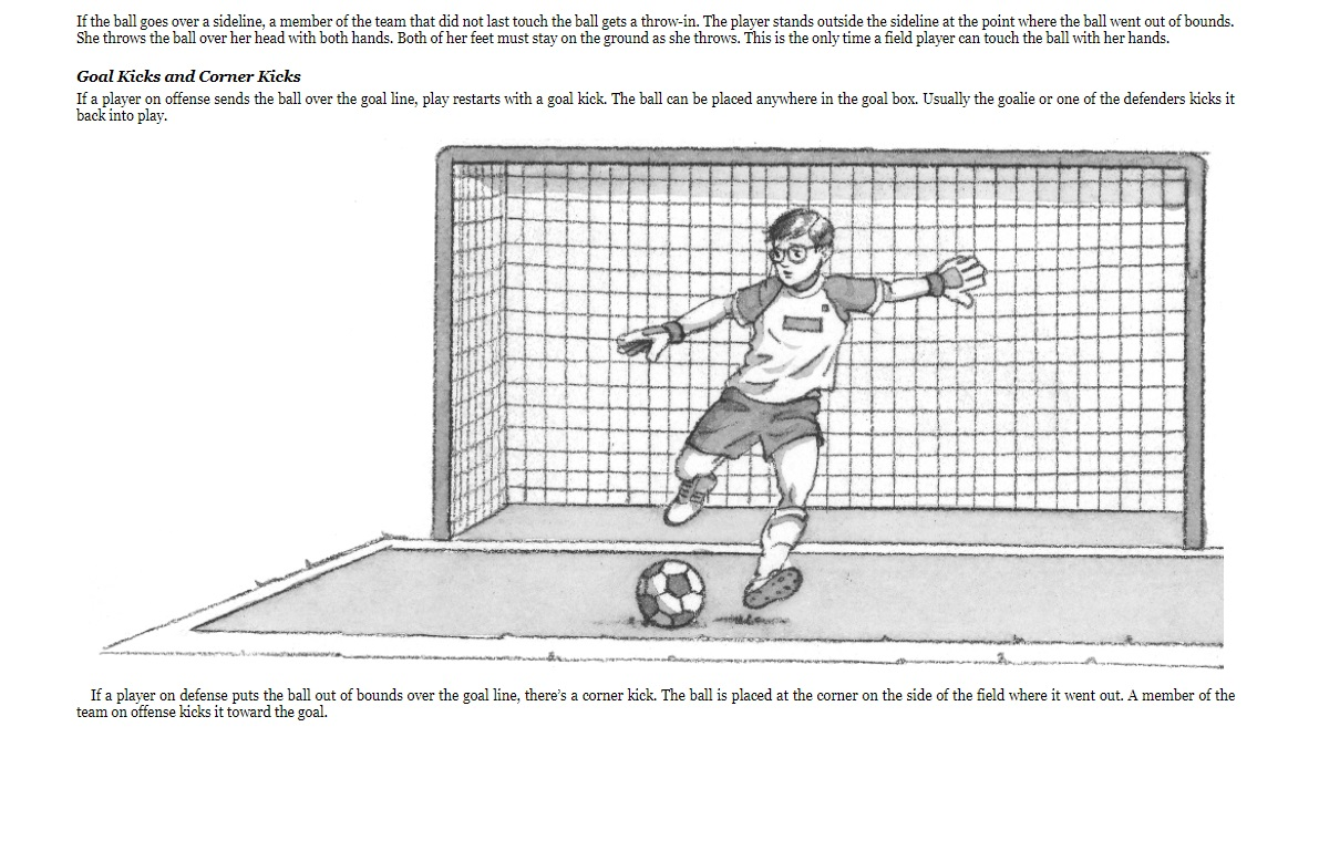 Magic Treehouse Fact Tracker Soccer sample page 3