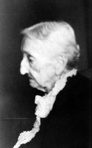 Fannie Andrews Nixon, age 96, ca. 1939