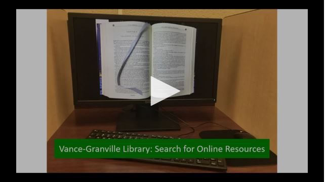 Search Online Library Resources
