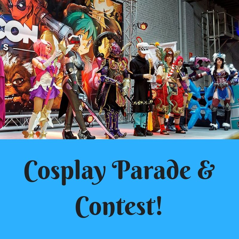 cosplay parade and contest