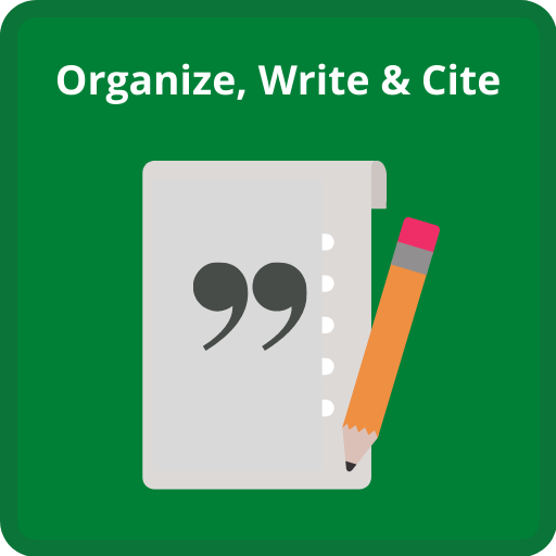 Click here for help organizing your sources and writing and citing in your paper