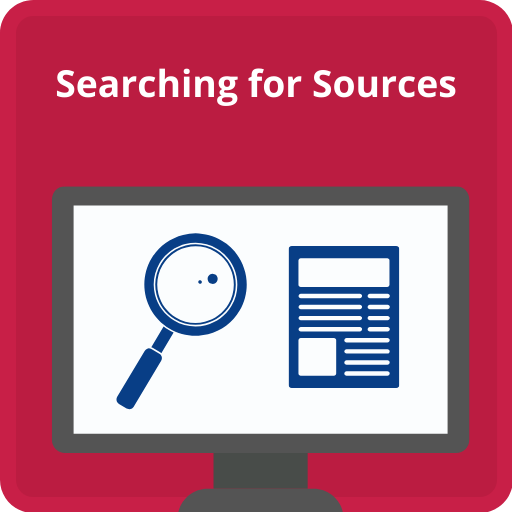 Click here for help finding and searching for sources in your discipline