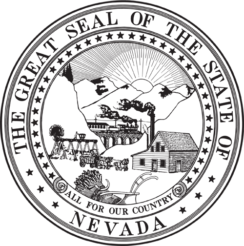 picture of the nevada state seal