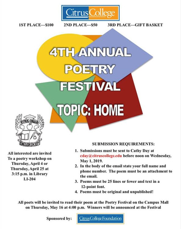 English Society Poetry Festival