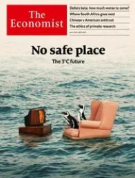 The Economist cover - No safe place