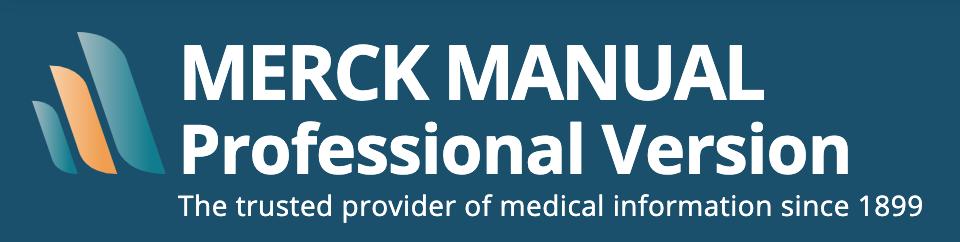 Merck Manual Prfoessional Version logo