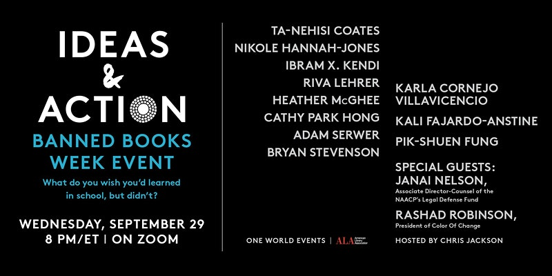 Ideas in Action Banned Book Event