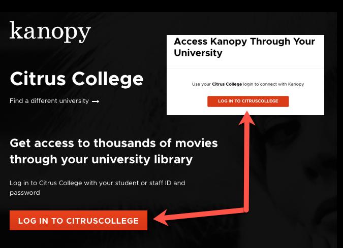 Log in to Citrus College