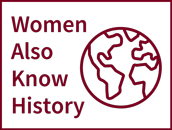 Women Also Know History logo