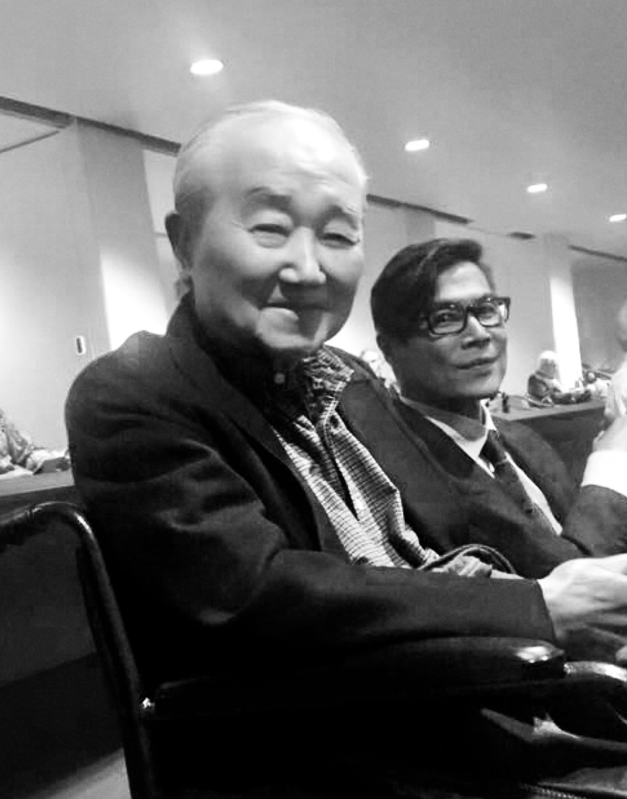 James Toru Nishioka and son Galen, 2016
