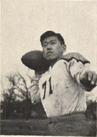 Jack Nomi, MSM Quarterback, 1946 Rollamo