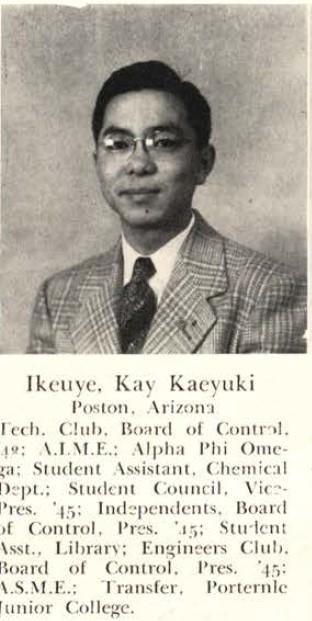 Kay Ikeuye, Rollamo 1945