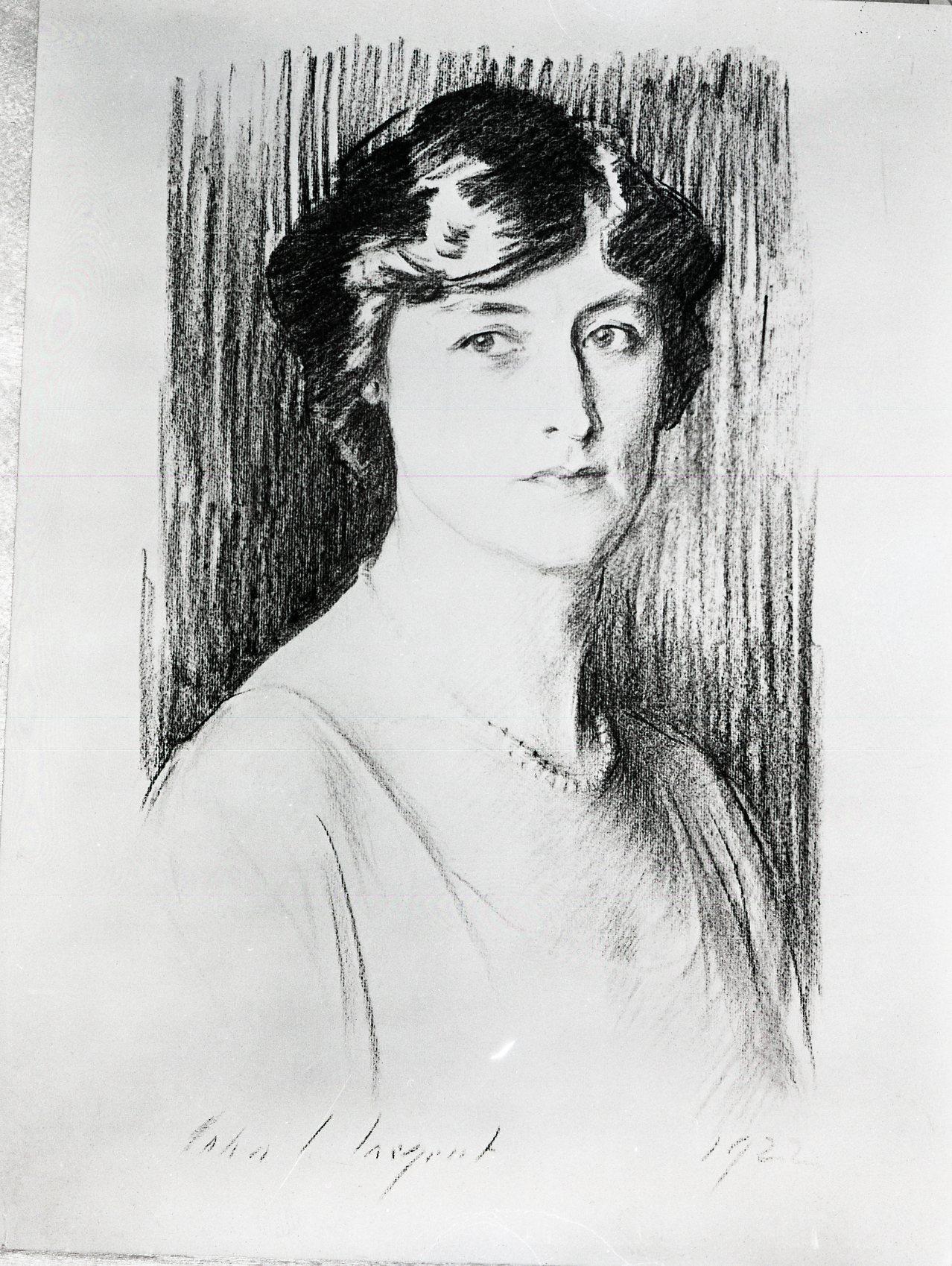 Portrait by James Sergeant