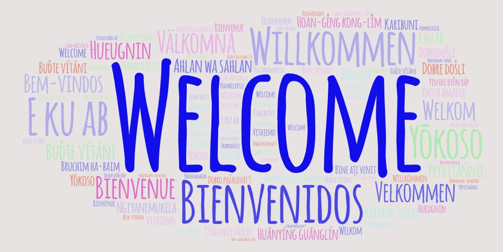 Welcome Word Art Image