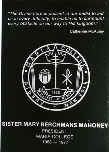 Maria College Seal