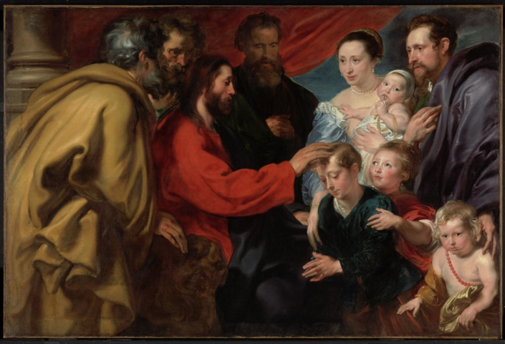 Let the Children Come to Me, Anthony van Dyck