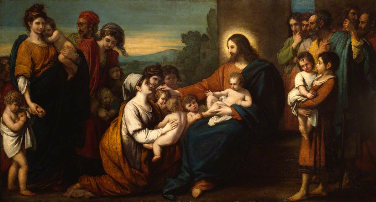 Christ Blessing the Little Children, by Benjamin West
