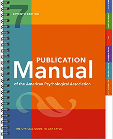 APA Manual, 7th Edition