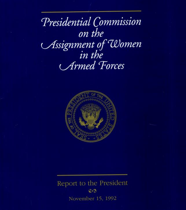 Presidential Commission cover doc
